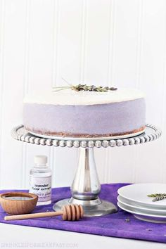 Do It Yourself Honey Lavender Cheesecake