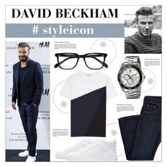 """""""Untitled #361"""" by zitanagy ❤ liked on Polyvore featuring David Beckham and Tommy Hilfiger"""