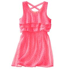 Cherokee® Girls' Sun Dress- though I wood get in navy not coral!