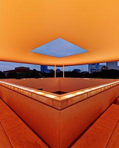 James Turrell's Twilight Epiphany skyspace (2012), on the Rice University campus