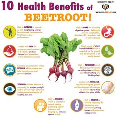 10 Benefits of Beetroot!