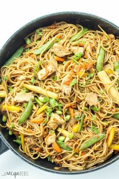 One Pot Chicken Chow Mein | Community Post: 21 Insanely Easy Single-Dish Meals That Will Change Your Life