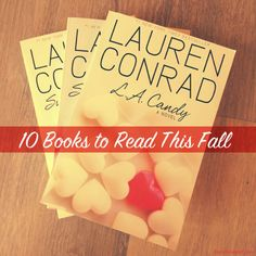 Tuesday Ten: Fall Reading List... I'm a little late so it can be my winter/spring reading list :)
