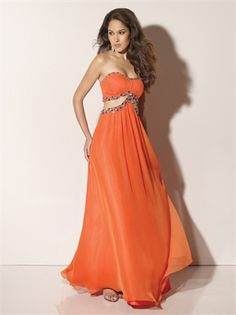 A-line Strapless Floor Length Open Back Prom Dress PD10046 www.dresseshouse.co.uk $116.0000
