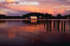 Virginia: Sunset on the Rappahannock River