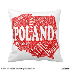 Pillow for Polish Patriot