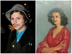 Michael Cera Is Actually A Spanish Woman From The 1940s
