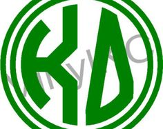 kappa delta monogram - Google Search