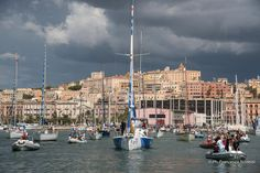 Cagliari accompagna Italia e Gaetano verso #soloroundthegloberecord