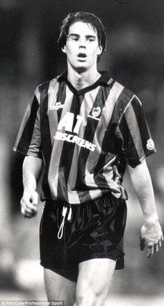Jamie Redknapp playing for Bournemouth