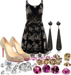 """""""diamonds"""" by violetta400 ❤ liked on Polyvore"""