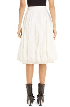 506ea0b4e7b3e3 Altuzarra Trapunto-Stitched Linen Wrap Skirt ($638) ❤ liked on ...