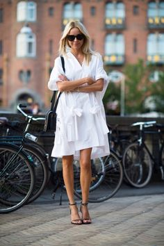 Give it up on more time for the white dresses!