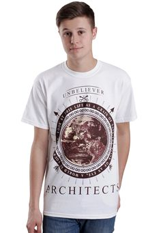 Architects - Unbeliever White - T-Shirt