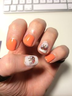 #elephant #nail #art #transfers #colors