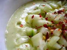 Raw on $10 a Day (or Less!) Creamy Cucumber Soup