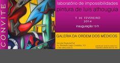 Exposição de Pintura de Luis Athouguia na Ordem dos Médicos  0d05977780aa3