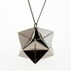 Big Magic Ball Necklace - Necklaces - origami-jewellery