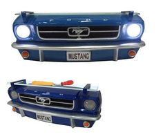 1964 Mustang 3-D Front Shelf- Love this for boys nursery!