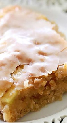 This delicious apple cake is beyond moist and has caramel frosting infused in each and every bite. This cake literally melts in your mouth!