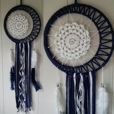 Beautiful handmade MOON dream catcher by ExtremeCreationsJMJ