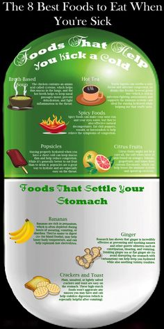 8 Best Food To Eat When You Are Sick