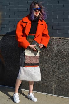 Street style: Irene Kim at NYFW Fall 2015 shot by Stephen E. Sherman, a New York based photographer