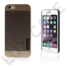 Motomo (Polka prikker – gull) iPhone 6 Deksel
