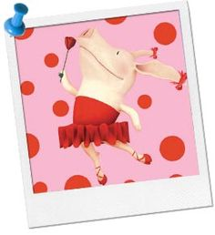 We're having a party with Olivia the Pig,  We'll eat tasty food and dance a jig.  There are crafts to make and games to be won,So come to ----'s party and join the fun!
