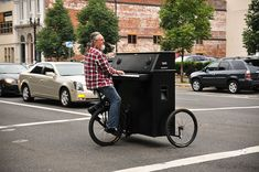 The Piano Bike: making people happy!  #productivepedals