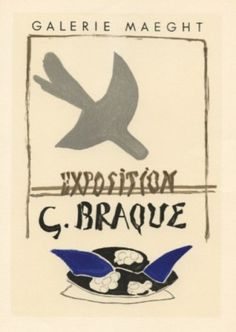 Georges BRAQUE lithograph poster (printed by Mourlot) on eBay!
