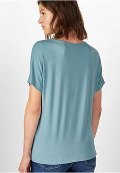 Street One - BERGITTA - T-Shirt basic - stone jade