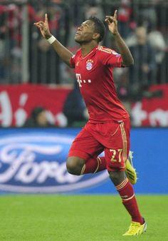 David Alaba, Abwehr: Der österreichische Spieler mit der Nummer 27 der Bayern traf nach exakt 26 Sekunden....