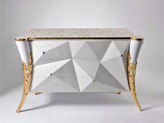Comò in legno B120 ST Collezione Stresa by Rozzoni Mobili d'Arte design Statilio Ubiali