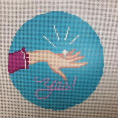 Ridgewood Needlepoint Blog: Wedding Needlepoint!