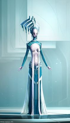 Project AaeRA - Concept Art by George Munteanu, via Behance