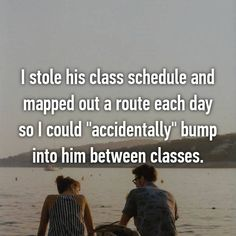"""He lived 2 hours away. The first whisper reads, """"Pretended I did…"""" Funny Crush Memes, Cute Crush Quotes, Crush Humor, All Quotes, Funny Quotes, Crush Stories, Whisper Quotes, Falling For Someone, Whisper Confessions"""
