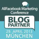 AKOM360 ist Blogpartner der AllFacebook Marketing Conference am 29. April 2013 in München! #akom360