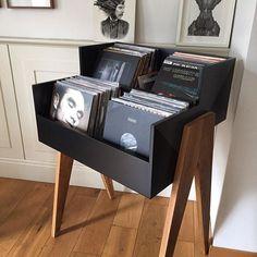 Custom vinyl storage unit hand-made by @cihankivanc. . : @istanbulian -- #TheHomeOfVinyl