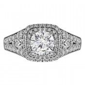 Halo Engagement Rings, Concord, NC, Diamond Halo Rings, North Carolina