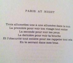 paris at night trois allumettes...