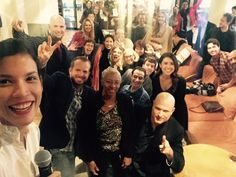 Founded in 1984, TED is a nonprofit devoted to spreading ideas, usually in the form of short, powerful online video talks. In December 2016, at TEDxLA in Los Angeles, CA, Fear The Walking Dead star Danay Garcia took this cool work selfie with Ryan Foland and some of the TED team.