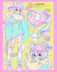 cuteboy pastel kitten ukeboy femboy sub subboy bottom cutie pastelboy pastelgoth yaoi animenboy ⚠️CREDITS TO OWNER⚠️ Kawaii Art, Kawaii Anime, Aesthetic Art, Aesthetic Anime, Pastel Goth Art, Tamako Love Story, Cute Art Styles, Image Manga, Cute Characters