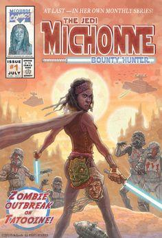 Michonne the Jedi