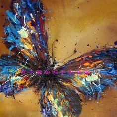 Cheap Pintado a mano aceite espeso pintura al óleo abstracta de la mariposa pintura decorativa mural moderno, Compro Calidad Pintura y Caligrafía directamente de los surtidores de China:       Detalles del producto      Pintura solamente, no incluye el marco y camilla             Verde, azul, naranja