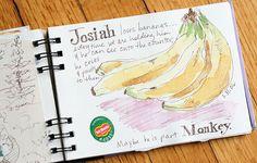 #watercolor #sketchbook #illustrated_journal