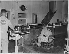 Coca-Cola bottling line. Fort Scott, Kans, ca. 1958
