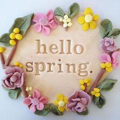 Hello Spring. Thank you for the sunshine! ☀️ #happyhandshappyheart #scentedplaydough #vanilla #spearmint #lavender #pinkgrapefruit #lemon #cinnamon #natural