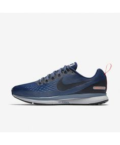 huge selection of 30031 d8852 Nike Air Zoom Pegasus 34 Shield Binary Blue Armory Blue Obsidian Obsidian  907327-400 Nike