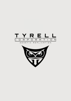 Tyrell Corporation graphics design blade runner Art